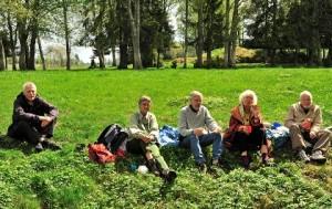Resan 1 Lunch i det gröna Gussjön KB 120520 420